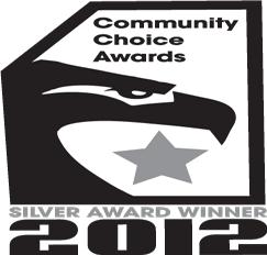 Silver Choice Award Logo, Awards and Community Service