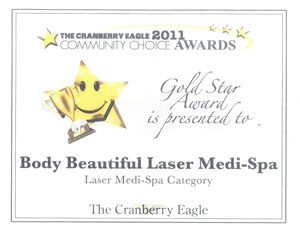 Cranberry Eagle Readers Choice Gold Award, Awards and Community Service