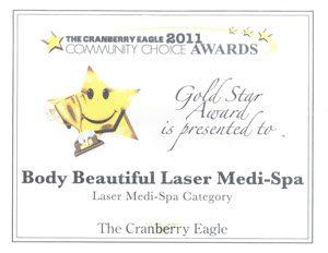 Cranberry Eagle Readers Choice Gold Award