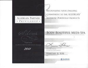 2011 Allergen Silver Partner Privileges