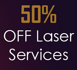 50 off laser services