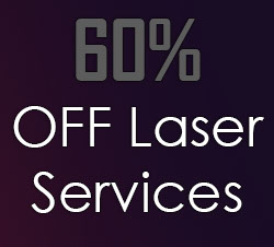 60 off laser services
