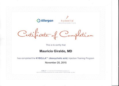 allergan kybella trained dr
