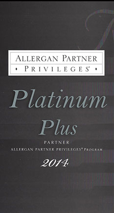 Allergan partner privileges platinum plus partner