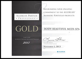 Allergan partner privileges gold partner