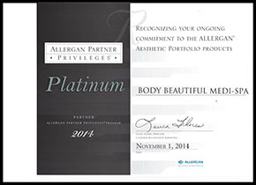 Allergan partner privileges platinum plus partner