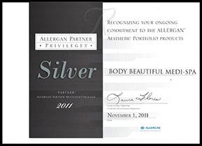 Allergan partner privileges silver partner