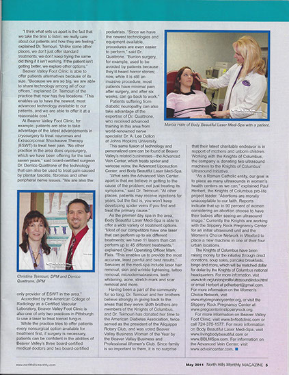Article North Hills Monthly Cover Story 2 of 2