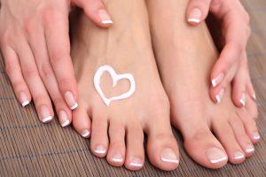 baby feet beauty peel
