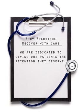 Body beautiful Doctors note pad