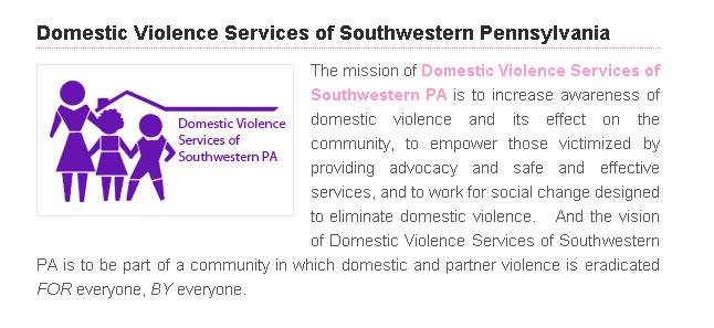 domestic violence services of southwestern Pennsylvania