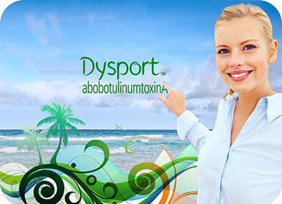 Dysport significantly improves the appearance