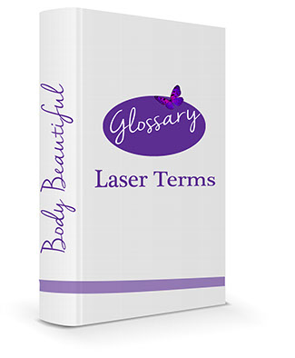 Laser Glossary Logo Laser Terms, Laser medical, spa, glossary, definitions
