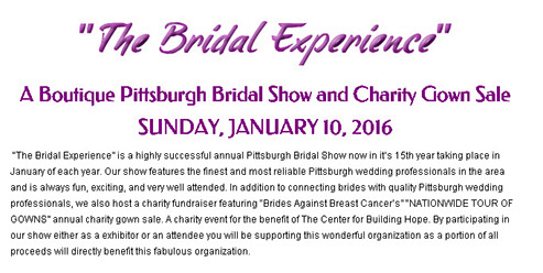 the bridal experience charity