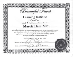 Marcia Hale MPS Learning Institute
