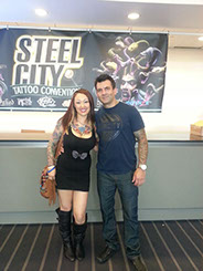 Shane O'Neil, Winner of Spike TVs tattooing competition Ink Master (Season 1), visits Body Beautiful Laser Medi-Spa