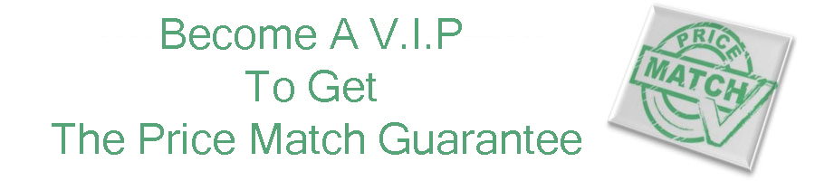 Become a VIP and get price match guarantee teeth whitening