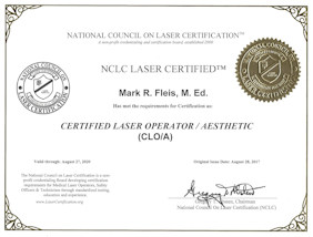 Marks Laser Re-certification