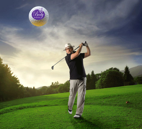 Mens Golf Body beautiful Laser Medi Spa