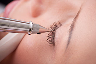 Tattooing device, Permanent Eyeliner fine arts of beauty