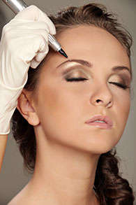 Permanent eyebrows fine arts of beauty, Permanent Cosmetic pre and pos