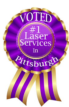 Voted number one laser services in Pittsburgh Pa