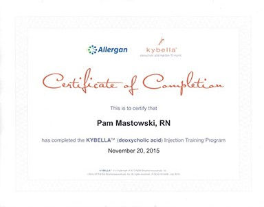 Allergan kybella trained nurse