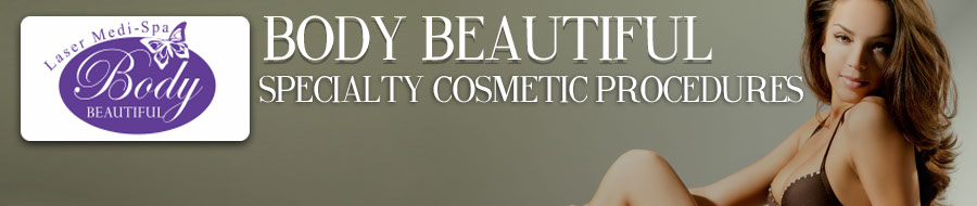 body beautiful laser spa banner specialty cosmetic procedures