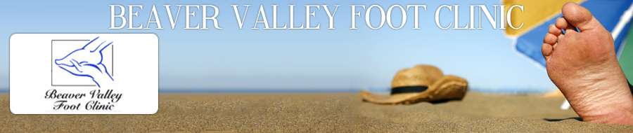 Beaver Valley Foot Clinic banner, Services and Pricing