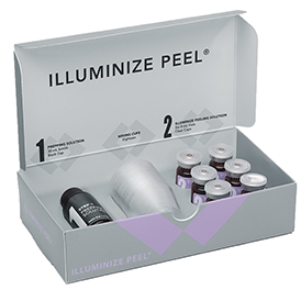 illuminize peel,Medical Grade, Skincare Products, Pittsburgh Pa, prescription treatment, Brilliant Distinctions Rewards, ​Diamond ​Distributor,​ Botox, Juvederm, Kybella​, Latisse, Skin Medica skin care line, All skin types, Hydration, skin cleansing, skin care routines, Face, neck, chest, Moisten skin, massage cleanser, SkinMedica, daniPro, Clarity, sun shades, Nailesse, formula 3