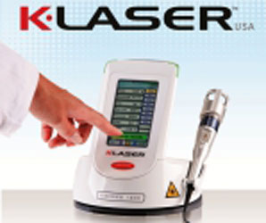 klaser logo, K-laser Treatment Deal, healing power of laser