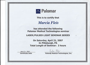 marcia fleis hale palomar medical technologies seminar laser-pulsed light seminar series