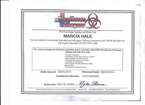 marcia hale osha bloodborne pathogens by protrainings