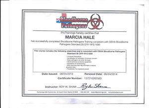 marcia hale osha bloodborne pathogens by protrainings