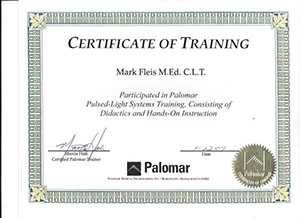 mark fleis med clt palomar pilsed-light systems training by palomar