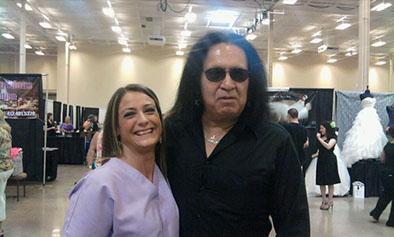 Singer-songwriter, record producer, entrepreneur, actor, and television personality Gene Simmons visits Body Beautiful Medi-Spa.