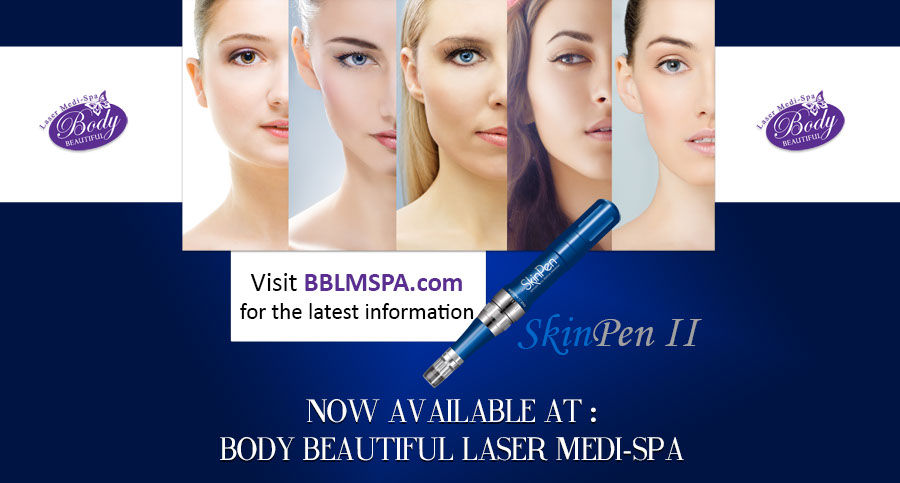 skin pen expert experience skin rejuvenation available at Body Beautiful, skin pen, micro needles, derma pen, dermal rollers, punctured holes, hera microneedle machine, needles, poke holes, wrinkles, fine lines, collagen, smooth texture, scars, divots, skin tone, Hyaluronic Acid, fast, stimulate collagen, eliminate scars, crow's feet, upper lip wrinkles, fraxel laser, skin tightening, minimally invasive, minimal downtime, safe, price