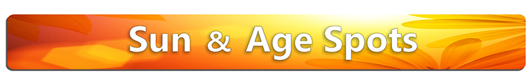 Sun and age spot icon, skin conditions, complexion, skin conditions, Pigmented Lesions, pigmentation, face, neck, chest, back, shoulders, arms, hands, Sun Damage, Sunspots, Freckles, Brown Marks, Skin Spots, Liver spots, Birthmark, Moles, Freckles, Beauty Marks, Rosacea,