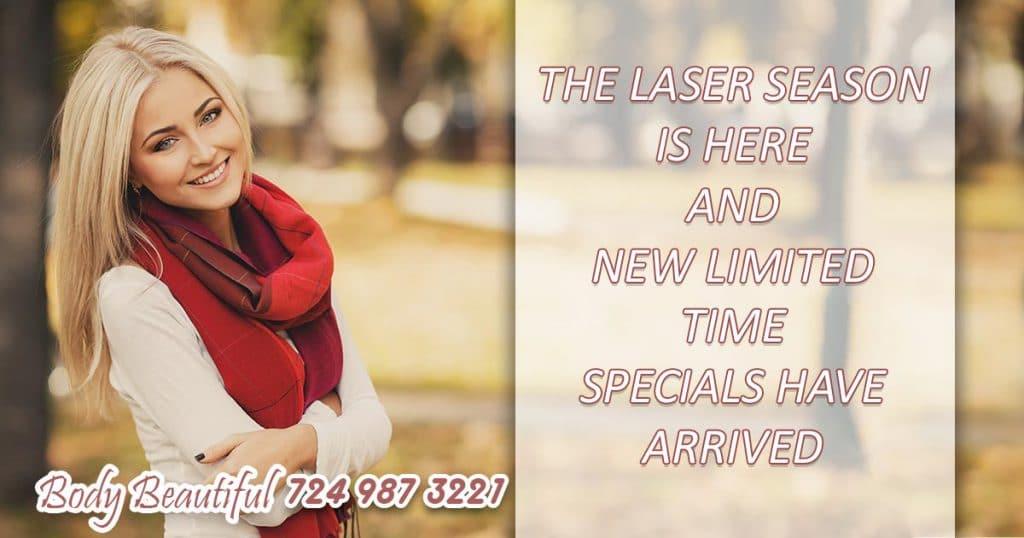 New laser specials have arrived