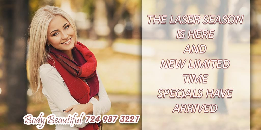 New laser specials have arrived, Laser Hair Removal Special, Best Deal of the Year