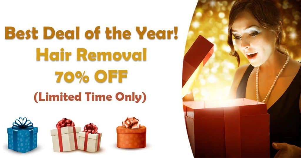 Holiday Laser Hair Removal Deal