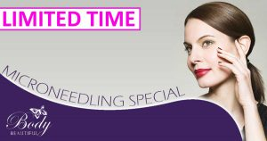 Limited time Microneedling deal special free treatment