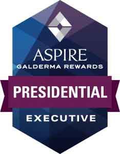 Presidential Executive Aspire Galderma Rewards, Awards and Community Service
