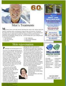 Mens magazine article treatments