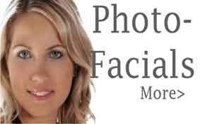 Photofacials, VIP Membership Sign Up, Contact us, interested procedures,