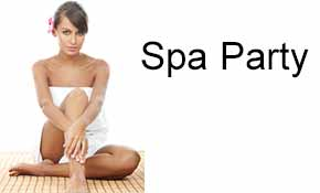 Spa Party, VIP Membership Sign Up, Contact us, interested procedures,