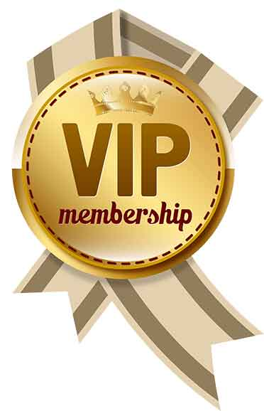 VIP membership logo, VIP Members page