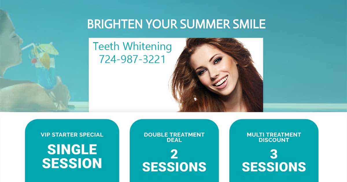 Teeth Whitening Summer Smile