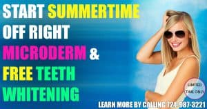 Microdermabrasion and Teeth Whitening