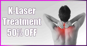 K Laser Treatment special, save, money, sale, special, deal special,